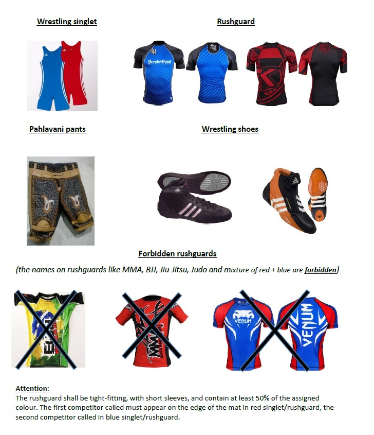 competitors dress